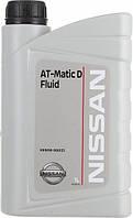 Масло трансмиссионное NISSAN at-matic D fluid 1Л