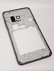 Рамка корпусу з кнопками і динаміком Samsung G531H оригінал б.у., фото 3