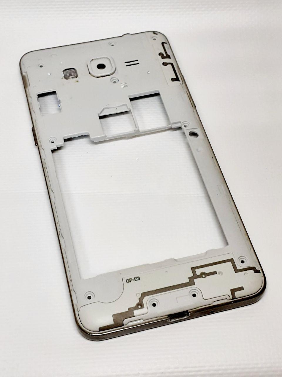 Рамка корпусу з кнопками і динаміком Samsung G531H оригінал б.у.