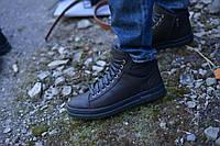 Ботинки натуральная кожа коричневые сарагоса, фото 1