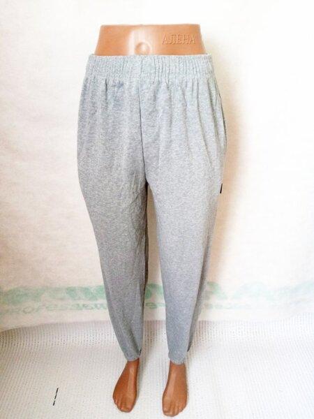 Спортивные штаны теплые на манжете р.46-48 светло-серые. От 3шт по 72грн