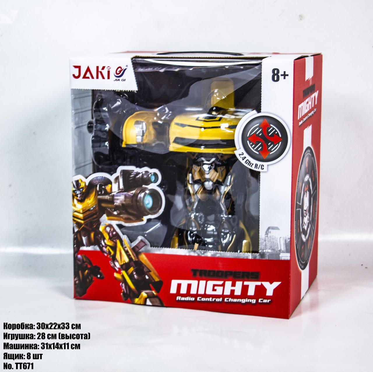 Робот-трансформер JAKI MIGHTY