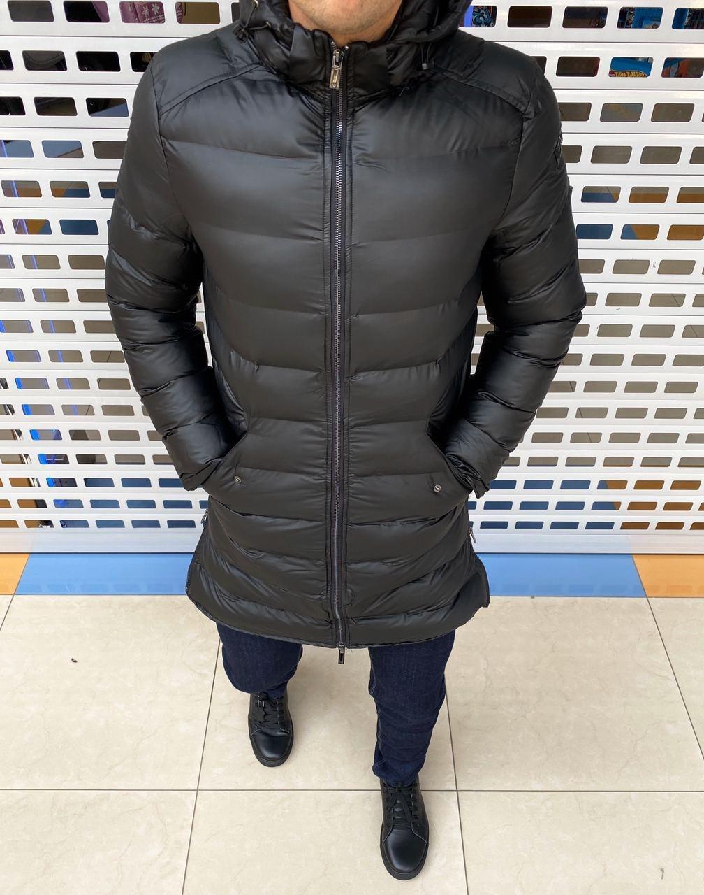 Чоловіча куртка подовжена осіння у наявності! ЛЮКСОВА МОДЕЛЬ! Стильні та комфортні РОЗМІРИ: S-2XL.