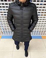 Мужская куртка удлиненная осенняя в наличии! ЛЮКСОВАЯ МОДЕЛЬ! Стильные и комфортные РАЗМЕРЫ: S-2XL.