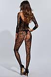 Сексуальна боді сітка боди-сетка с рисунком в упаковке бодистокинг эротическое белье, фото 2
