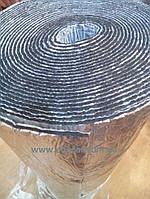 Ланор каучук с клеем и алюминием 10 мм (10х1м)