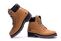 Мужские зимние кожаные ботинки Timderlend Crazy Shoes Limone New (реплика). Кроссовки, спортивные ботинки