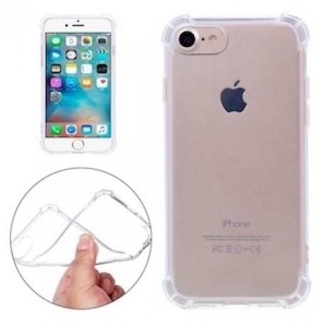 Чехол силиконовый с бортиками iPhone 7, 8, SE 2020