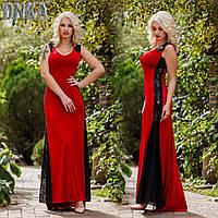 Платье Королевское вечернее длинное красное
