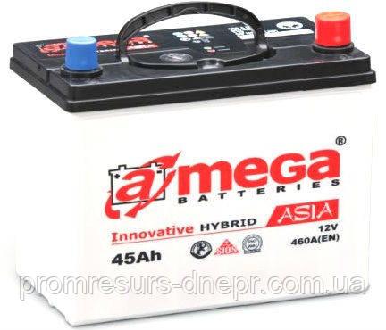 Аккумулятор автомобильный 6СТ-45 Mega