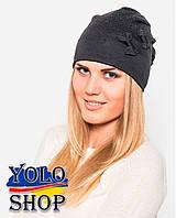 Женская шапка Бант (разные цвета)