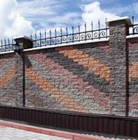 Фасадный камень «Рустик» Эшфорд (угловой) 185х35х60 мм