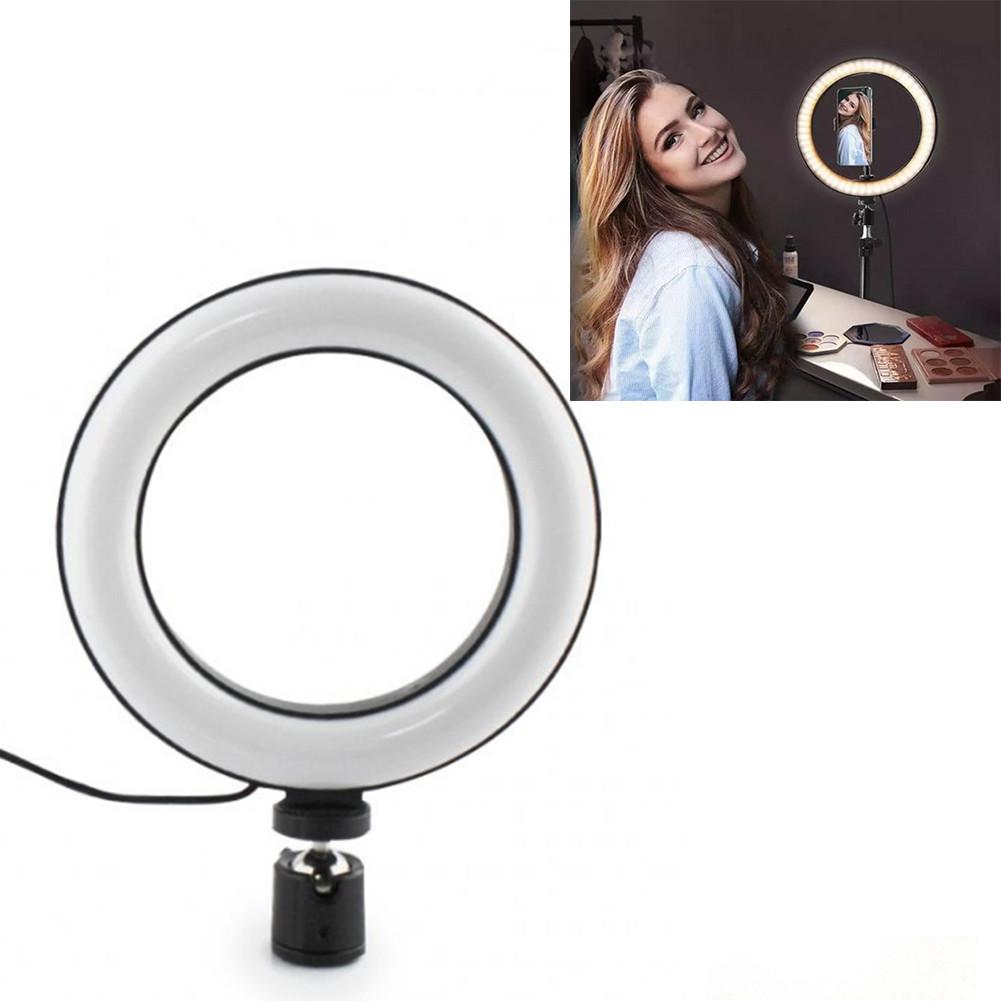 Кольцевая LED лампа для селфи 20 см RING LIGHT