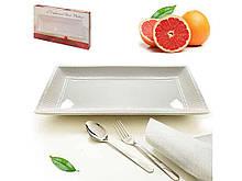 Блюдо сервировочное Stenson 43*25 см (MC2571)