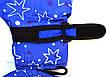 Детские болоневые перчатки на флисовой подкладке   - длина 18 см, фото 6