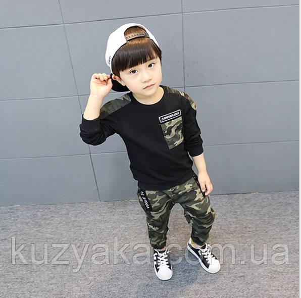 Детский спортивный костюм Камуфляж на рост 92-128 см