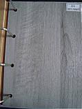Межкомнатные двери Новый Стиль Мира ПВХ DeLuxe со стеклом сатин, цвет Бук пепельный, фото 2