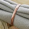 Серебряное Обручальное кольцо с позолотой вес 1.13 г размер 23, фото 2