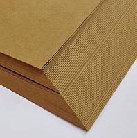 Крафт-бумага ПЛОТНАЯ (крафт картон) формата А3 (упаковка 200 л) , пл. 200 г/кв.м