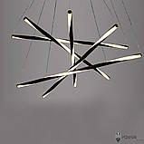 Люстра светодиодная PWL 36W 3000K IP20 ART-Spiral BK, фото 4