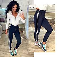 Женские спортивные штаны с лампасами, фото 1