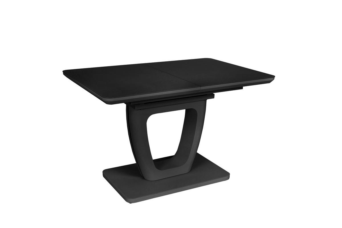 Стол TML-560 (Черный мат) 1200(+400)*800