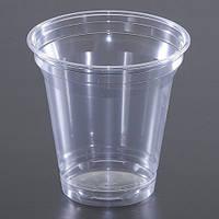 Стакан ПЭТ одноразовый 200-250 мл., 75 шт. пластиковый, прозрачный HUHTAMAKI