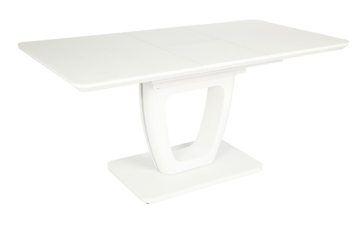Стол TML-561 (Белый мат) 1400(+400)*800
