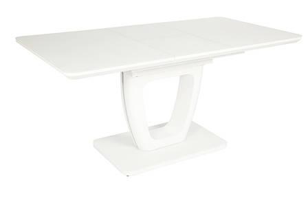 Стол TML-561 (Белый мат) 1400(+400)*800, фото 2