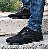 Чоловічі Мокасини Чорні Замшеві Туфлі (розміри: 42,45), фото 3