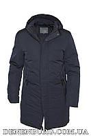 Куртка зимняя мужская HANDIGEFENG 20-L19016 темно-синяя, фото 1