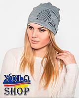 Женская шапка Веер (разные цвета)