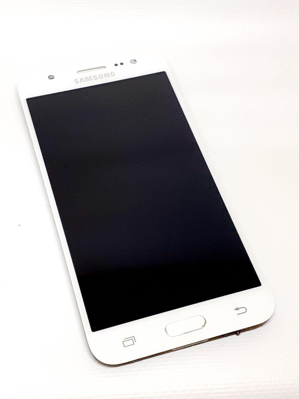 Модуль сенсор + дисплей белый Samsung J5 J500H  оригинал б.у.