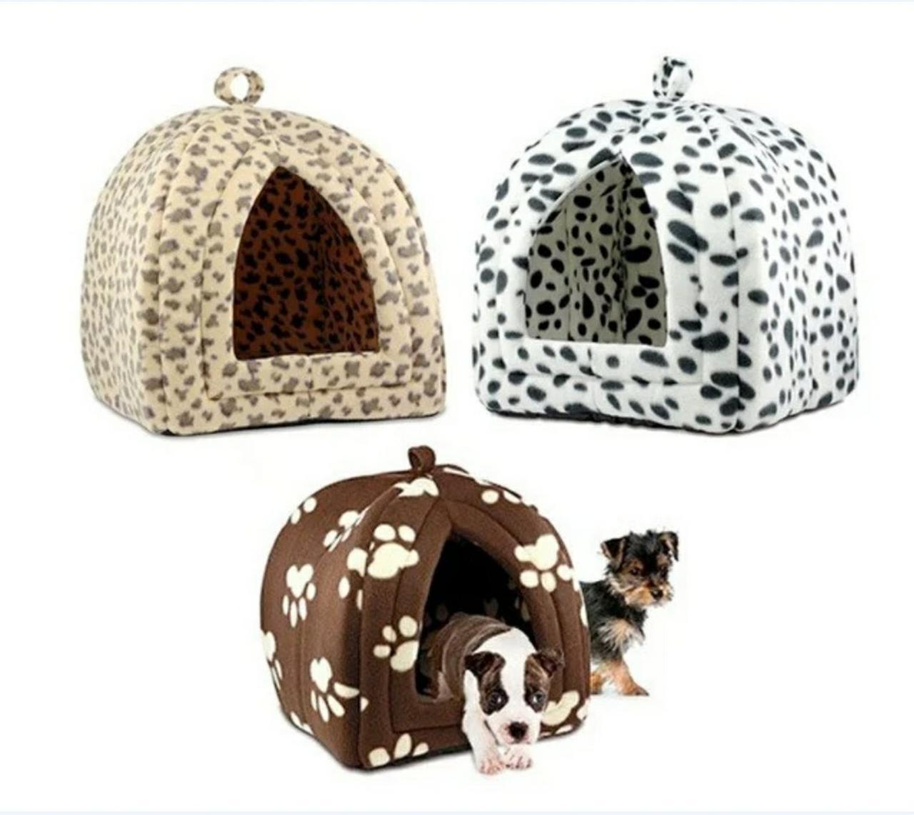Портативная подвесная мягкая будка для собак и котов Pet Hut