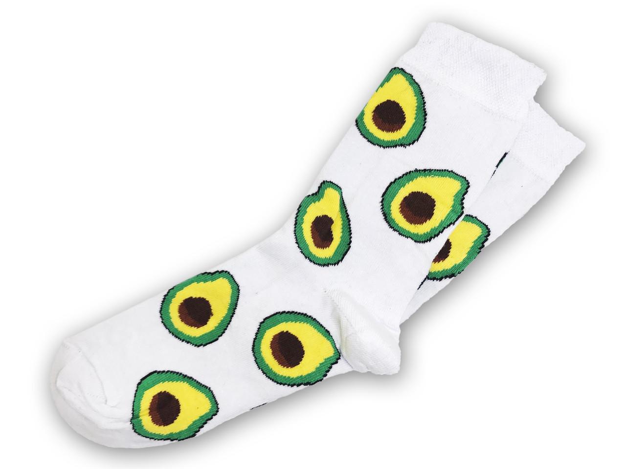 Носки Neseli Daily Авокадо белые 5972