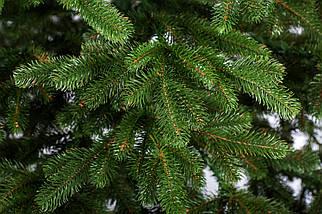 Новогодняя искусственная литая ель 2,1 метра Ковалевская зеленая, фото 2