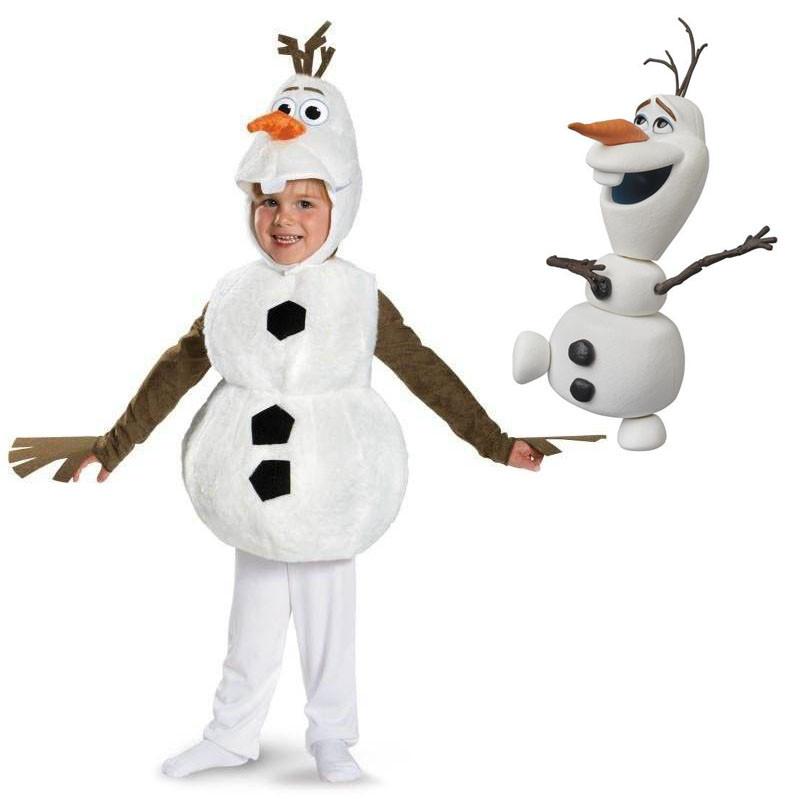 Маскарадний костюм сніговика Олаф Холодне серце - Olaf, Snowman, Frozen, Memune