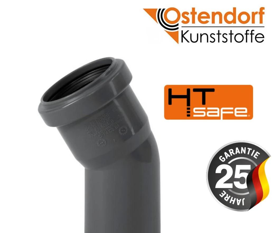 Отвод канализационный Ostendorf HT Safe (Германия) 110х15°