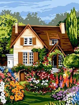 Картина по номерам 30×40 см. Babylon Загородный дом (VK 094)