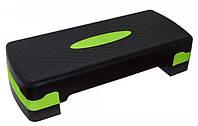 Степ-платформа регулируемая 2-ступенчатая SportVida для фитнеса, степ-аэробики и тренировок (SV-HK0040)