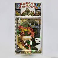 Набор животных YS 2789 A (60/2) Дикие животные, 21 элемент, на листе, фото 1