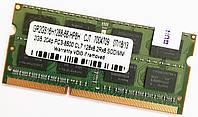 Оперативная память для ноутбука SODIMM DDR3 2Gb 1066MHz 8500S 2R8 CL7 Б/У MIX, фото 1
