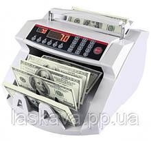 Лічильник банкнот Bill Counter 2108 c детектором UV /рахункова машинка + детектор валют/лічильник валют
