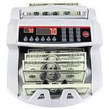 Лічильник банкнот Bill Counter 2108 c детектором UV /рахункова машинка + детектор валют/лічильник валют, фото 2
