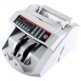 Лічильник банкнот Bill Counter 2108 c детектором UV /рахункова машинка + детектор валют/лічильник валют, фото 3