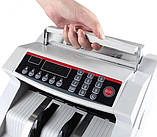 Лічильник банкнот Bill Counter 2108 c детектором UV /рахункова машинка + детектор валют/лічильник валют, фото 4