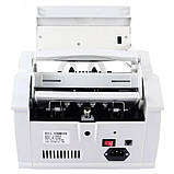 Лічильник банкнот Bill Counter 2108 c детектором UV /рахункова машинка + детектор валют/лічильник валют, фото 5