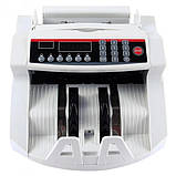 Лічильник банкнот Bill Counter 2108 c детектором UV /рахункова машинка + детектор валют/лічильник валют, фото 6