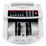 Счетчик банкнот Bill Counter 2108 c детектором UV /cчетная машинка + детектор валют/счетчик валют, фото 6