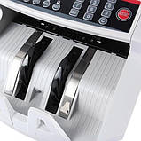 Лічильник банкнот Bill Counter 2108 c детектором UV /рахункова машинка + детектор валют/лічильник валют, фото 8